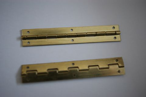 "2"" x 3/8"" Brass Hinges"